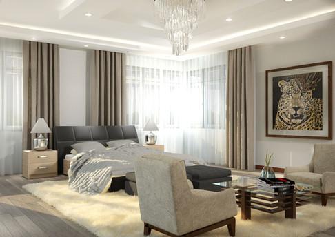 Master Bedroom Render