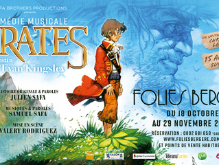 """Composer, co-writer and production of the musical """"Pirates: le destin d'Evan Kingsley"""""""