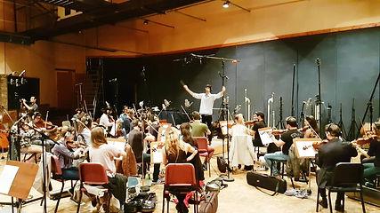 Recording orchestra