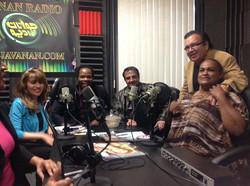 Live on the Javanan Radio