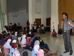 Guest At King Amakari School