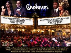 2015 African Oscars Presenter