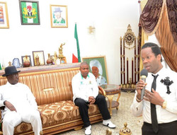 Guest at governor Timipre Silva