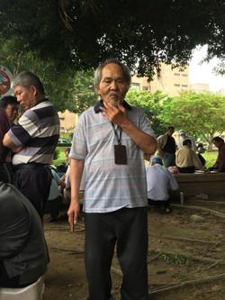 已72歲高齡的桃園市老棋王— 魚丸