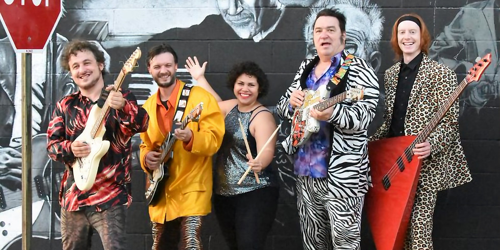 Igor & The Red Elvises  at The Ruins! **Ticketed Show**