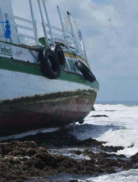 """Acidente com a embarcação """"CAVALO MARINHO"""" em Mar Grande (Salvador - BA)"""