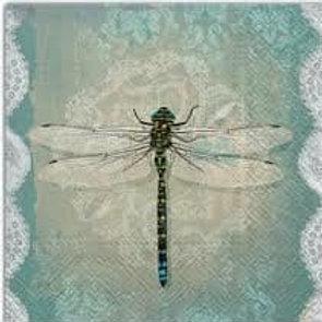 Dragon Fly - Decoupage Napkin