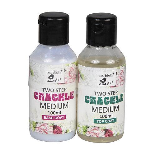 Two Step, Crackle Medium - Itsy Bitsy