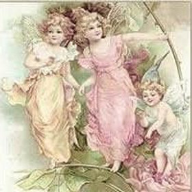 Two Angels - Decoupage Napkin