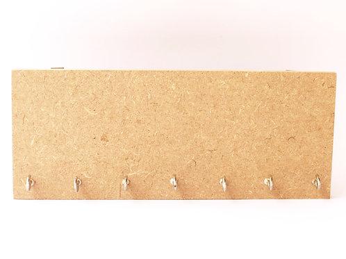 Key Holder With 7 Hooks - MDF product