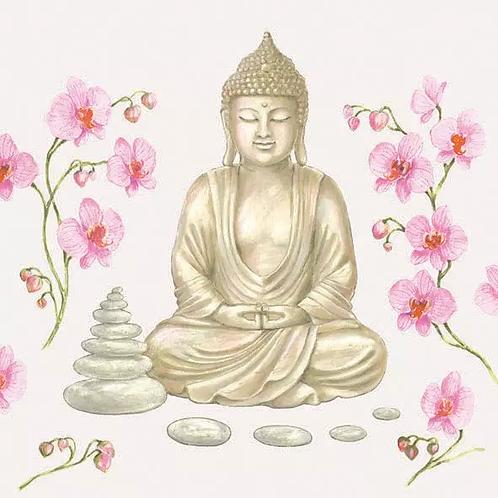 Buddha - Decoupage Napkin