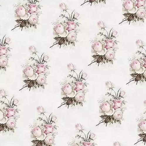 Small Vintage Rose - Decoupage Napkin