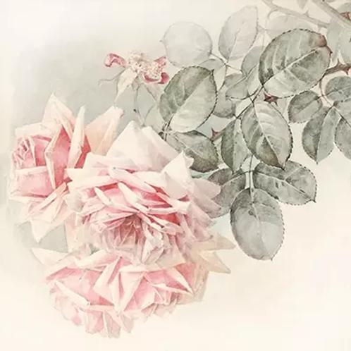 Rose Bunch Vintage - Decoupage Napkin