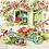 Thumbnail: Back Yard Garden - Decoupage Napkin