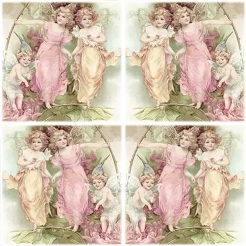Angels Vintage - Decoupage Napkin
