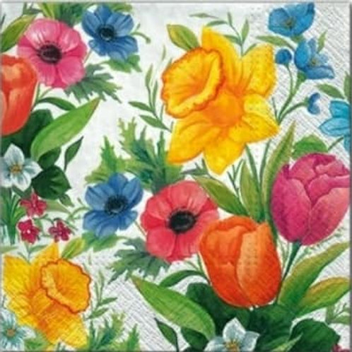 Colorful Bunch - Decoupage Napkin