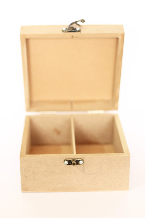 Storage Box with Removable Partition