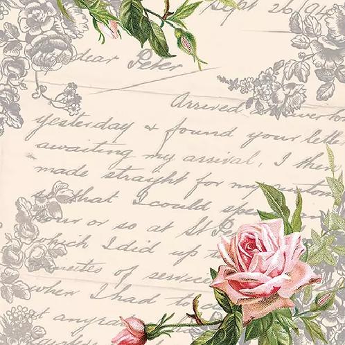 Love Letter - Decoupage Napkin