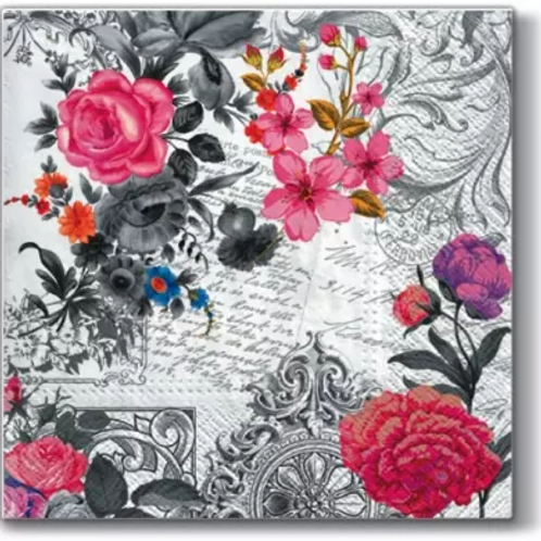 Royal Rose - Decoupage Napkin