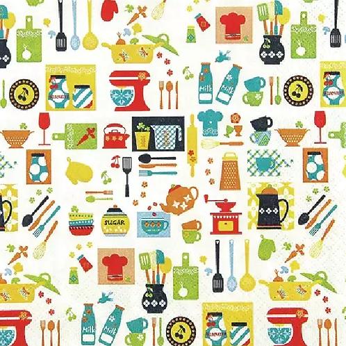 Kitchen Mix - Decoupage Napkin