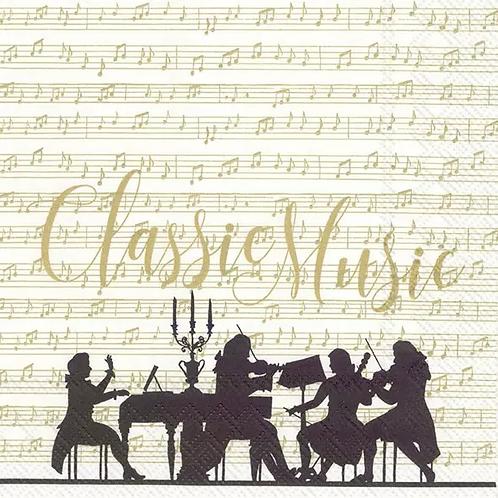 Classic Music - Decoupage Napkin