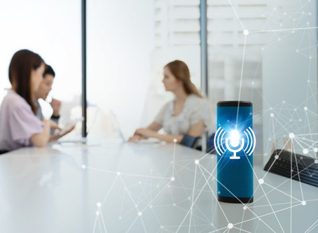 Voice-Assisted Technology is Migrating Into The Work Force