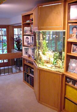 Protruding Angle Aquarium Front