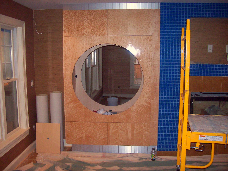 Porthole Aquarium Cabinet
