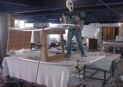 Acrylic aquarium machining