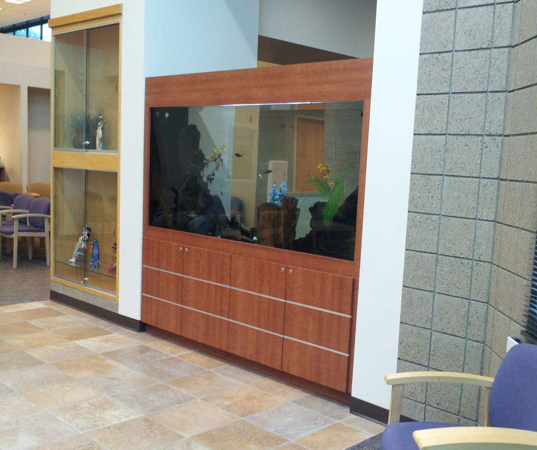 Atrium Entry Room Divider Aquarium