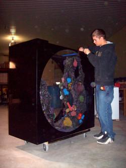 Porthole Window Aquarium