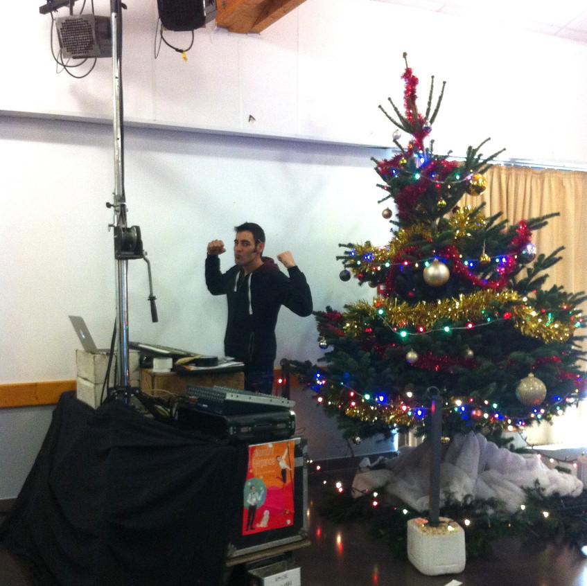Paul à la technique , 8 décembre