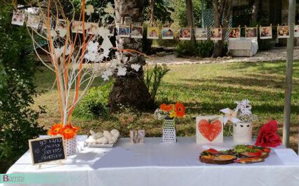 חתונת פירות, מעיין כרמי, עיצוב אירועים, פולארויד