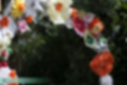 פרחי נייר, חופה בעבודת יד, חופה מיוחדת, מעיין כרמי, במבי עיצוב אירועים, אסקרגו
