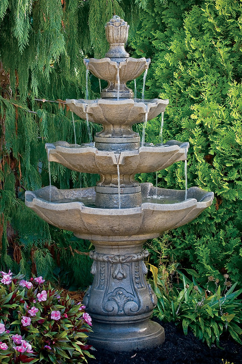 Classic Four Tier Fountain