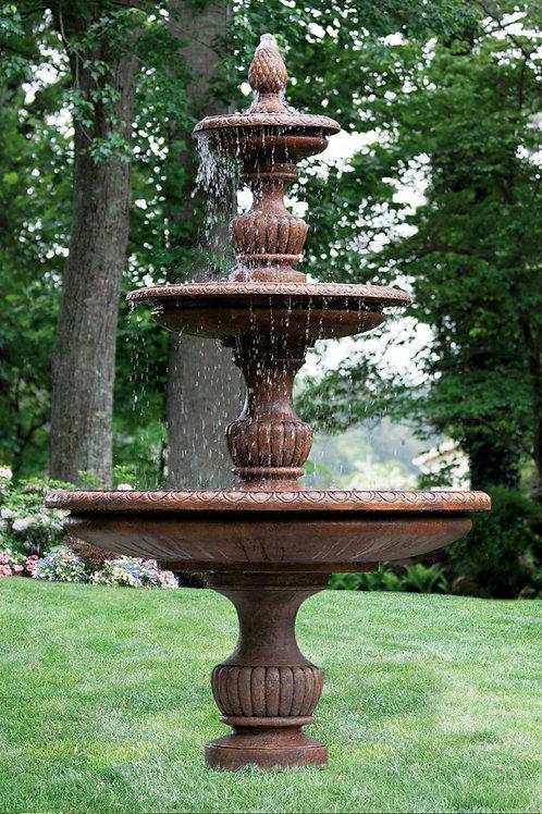 """121"""" Three Tier Savona Fountain"""