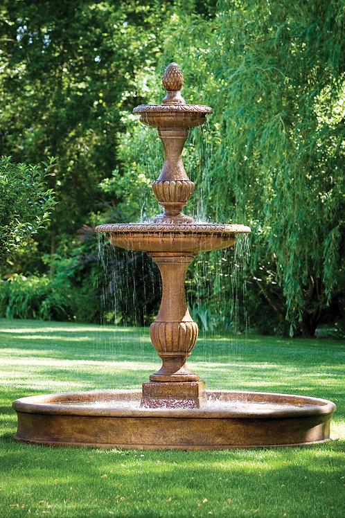 "109"" Savona Fountain On 8' Pool"
