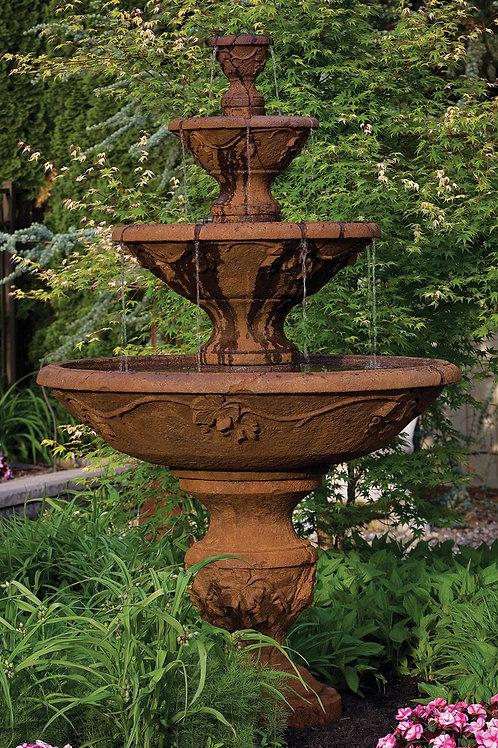 """78"""" Four Tier Harvest Fountain"""