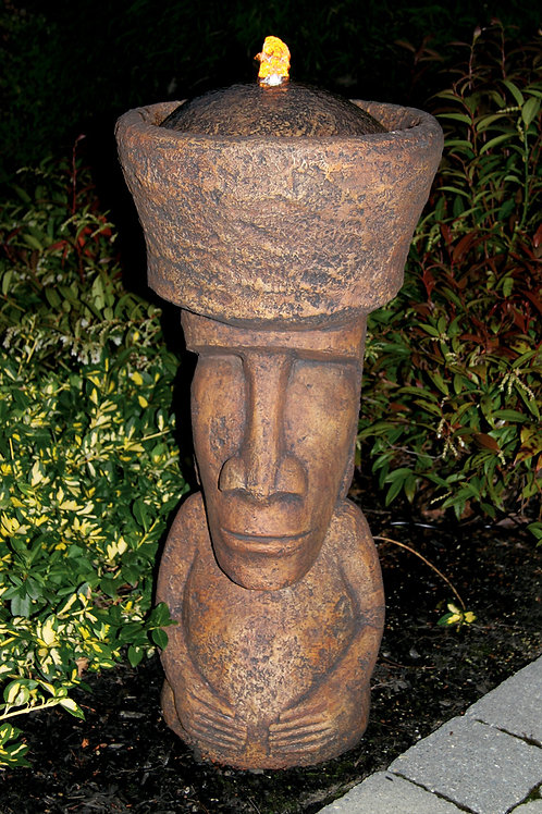 Easter Island God Fountainette (Light Up)