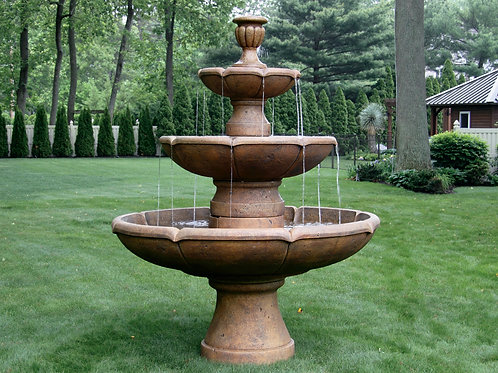 "95"" 3 Tier Charlotte Fountain"