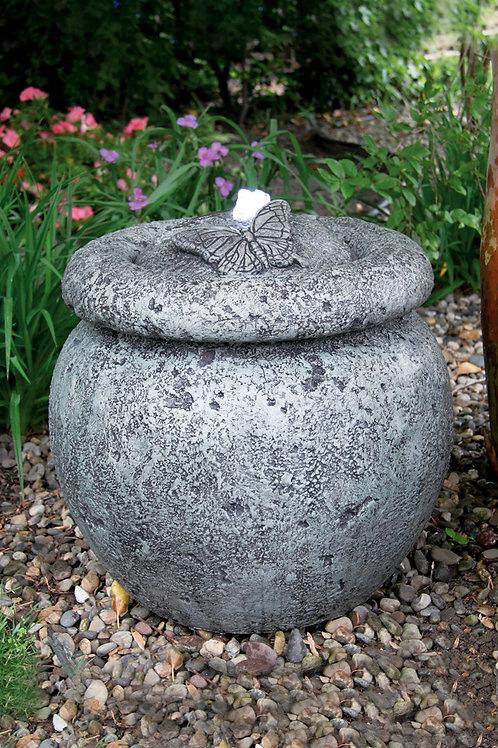 """18"""" Round Azusa Butterfly Fountain"""