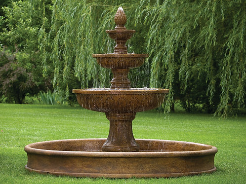 """80"""" Pavasa Fountain On 8' Pool"""