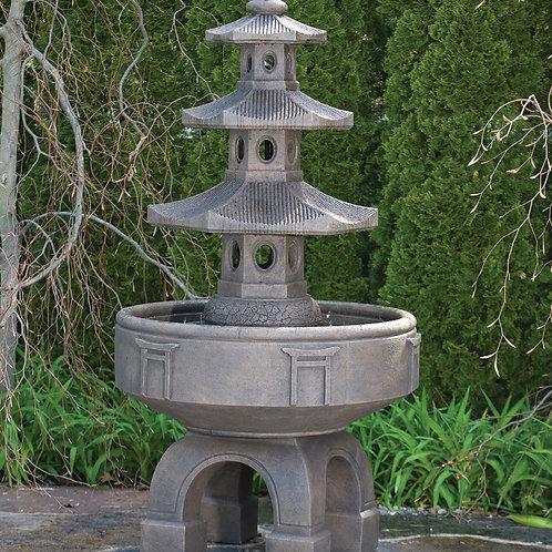 """80"""" Three Tier Pagoda Fountain"""