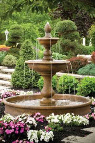 "77"" Vicenza Fountain on 6' Pool"