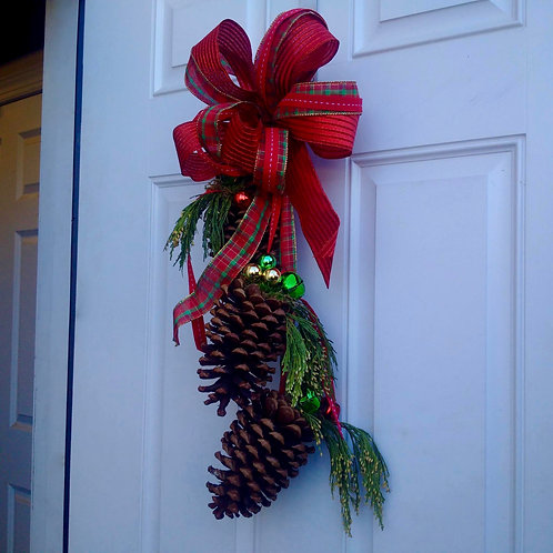 Multiple Assorted Pinecone Door Hangers