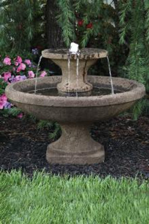 """23"""" Two Tier Bella Fountain (Light Up)"""