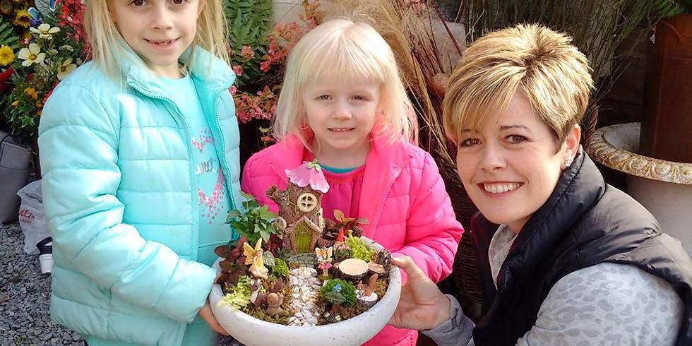Mom & Me Fairy Garden Class!