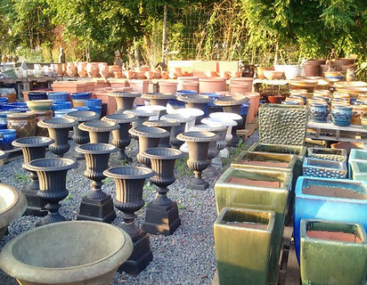 Pottery and Urns