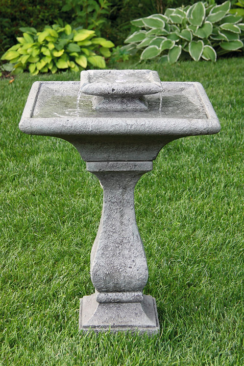 Two Tier Chelsea Glow Square Fountain (Light Up)