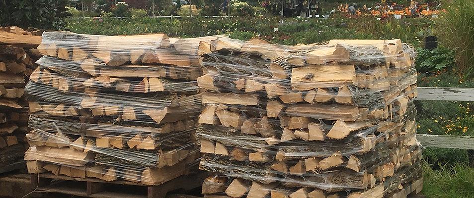 Half Cord of Firewood on Pallet